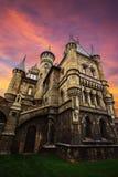 Ferienort-Schloss Garibaldi im Dorf Hryaschevka nahe Lizenzfreie Stockfotos