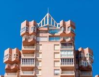 Ferienwohnungen Costa Blanca Spain Stockfotografie