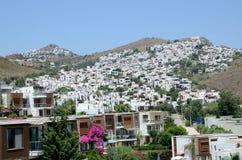 Ferienzentrum in der Türkei Stockbilder