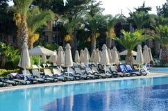 Ferienzentrum in der Türkei Stockfotos