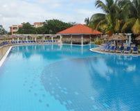 Ferienzentrum in Kuba Stockbilder
