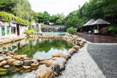 Ferienzentrum in Melaka Lizenzfreie Stockfotos