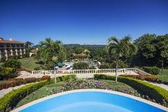 Ferienzentrum von Costa Rica Stockfotografie