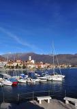 Feriolo Baveno, Lago Maggiore,意大利 免版税库存图片