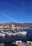 Feriolo por Baveno, Lago Maggiore, Italia imagens de stock royalty free
