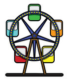 Feris wheel. Eps 10  illustration Design Stock Image