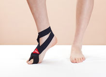 Ferita del piede (punta) Immagini Stock Libere da Diritti
