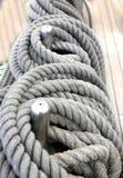 Ferita della corda nell'anello Immagine Stock Libera da Diritti