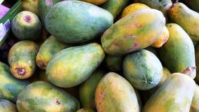 Fermé- de la papaye de miel Image libre de droits