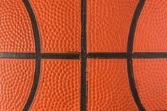 Fermé vers le haut de la vue du basket-ball pour le fond Basket-ball image stock