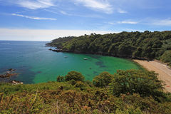 Fermain Bay Guernsey Stock Photography