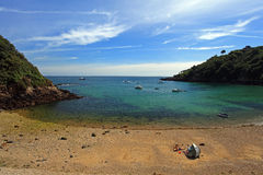 Fermain Bay Guernsey Stock Photography