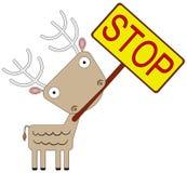 Fermata animale Fotografia Stock