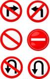 Fermata dei segnali stradali Royalty Illustrazione gratis