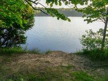 Fermata del pozzo di vista del lago immagine stock libera da diritti