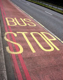 Fermata dell'autobus 3 Fotografia Stock Libera da Diritti