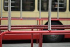 Fermata dell'autobus Fotografie Stock Libere da Diritti