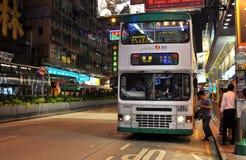 Fermata dell'autobus di Hong Kong Fotografie Stock Libere da Diritti