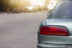 Fermata dell'automobile della parte nel parcheggio immagini stock