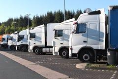 Fermata di camion Immagine Stock