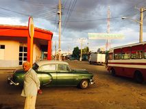 Fermata di Cuba Fotografia Stock