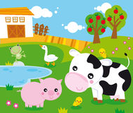 Ferme illustration stock