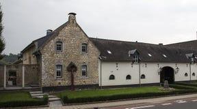 Ferme admirablement reconstituée Etenakerhof dans Wijlre, Pays-Bas Images stock