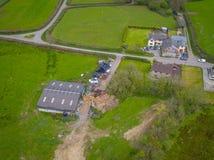 Ferme anglaise rurale Photo libre de droits