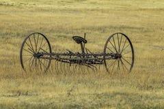 Ferme antique Hay Rake image stock