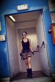 Ferme Cosplay de Lara Image libre de droits