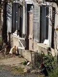 Ferme dans le forez de livradois, auvergne, France images stock