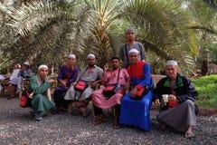 Ferme de dates ou de Kurma pendant le pèlerinage Image libre de droits