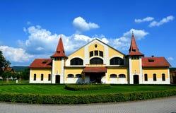 Ferme de goujon nationale, Topolcianky, Slovaquie Photos libres de droits