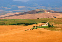 Ferme de la Toscane Photographie stock libre de droits