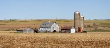 Ferme de Midwest Photos libres de droits