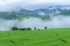 Ferme de montagne Images libres de droits