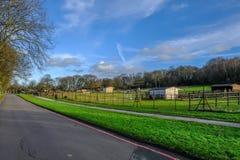 Ferme de parc de pays de Hainault Image stock