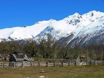 Ferme de Patagonia Photo libre de droits