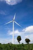 Ferme de turbines de vent Photographie stock libre de droits