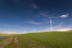 Ferme de vent de Palouse Image libre de droits
