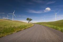 Ferme de vent de Palouse Images stock