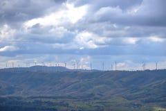 Ferme de vent de paysage Images libres de droits