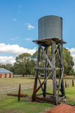 Ferme de Wonnerup dans l'Australie occidentale Watertank Photographie stock
