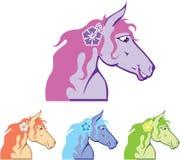 Ferme du cheval Head Photos libres de droits