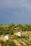 Ferme en Toscane photos stock