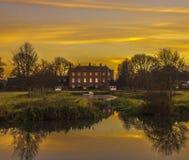 Ferme Hall Godmanchester Images libres de droits