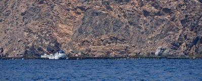 Ferme marine Kartagena l'espagne image libre de droits