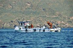 Ferme marine Kartagena l'espagne photo stock