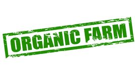 Ferme organique illustration stock