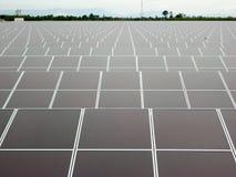 Ferme solaire Photographie stock